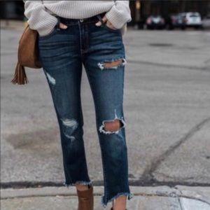 🆕 Vici dolls distressed frayed denim jeans